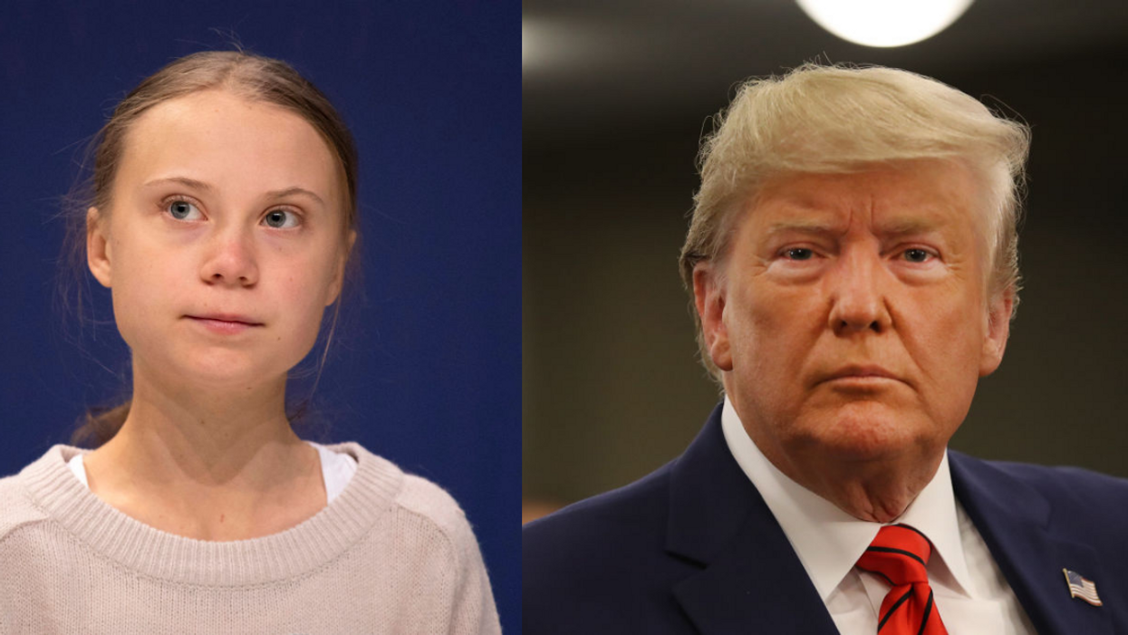 Greta Thunberg Was Asked If She Could Ever Be Friends With Trump—And She Didn't Mince Words