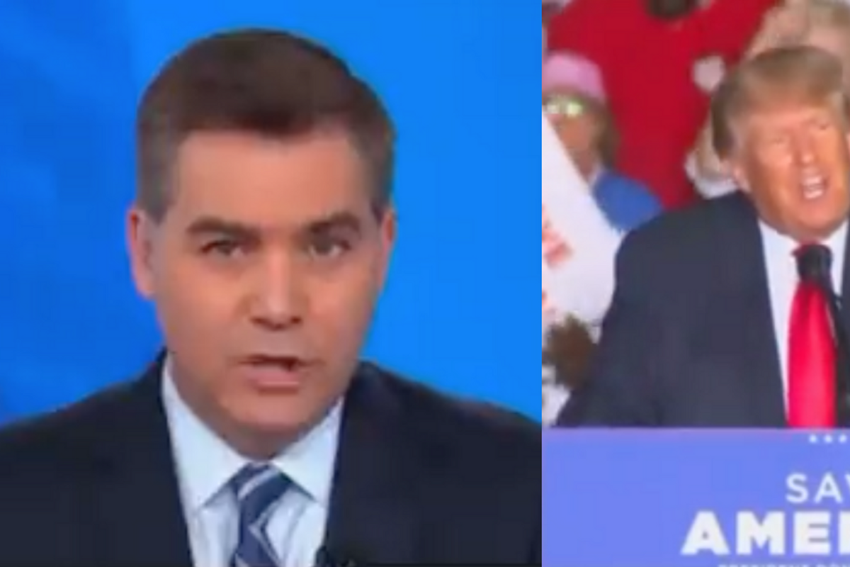 CNN Host Roasts Trump As An 'Exiled Twitter Junkie' In Epic On-Air Takedown Of His Georgia Rally