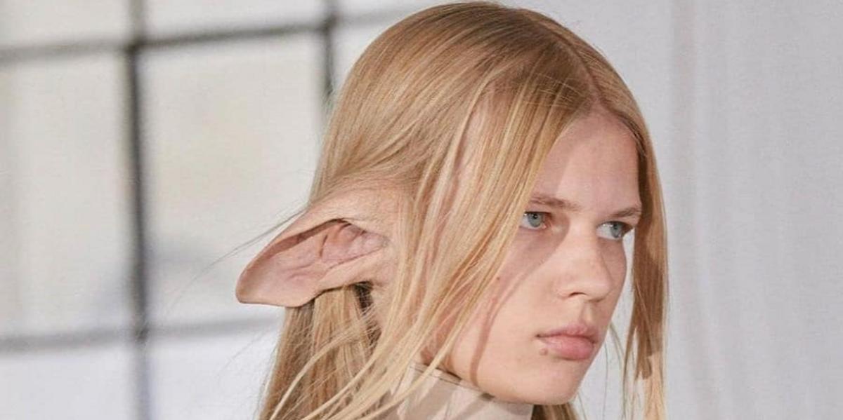 Models at Burberry Had Huge Elf Ears