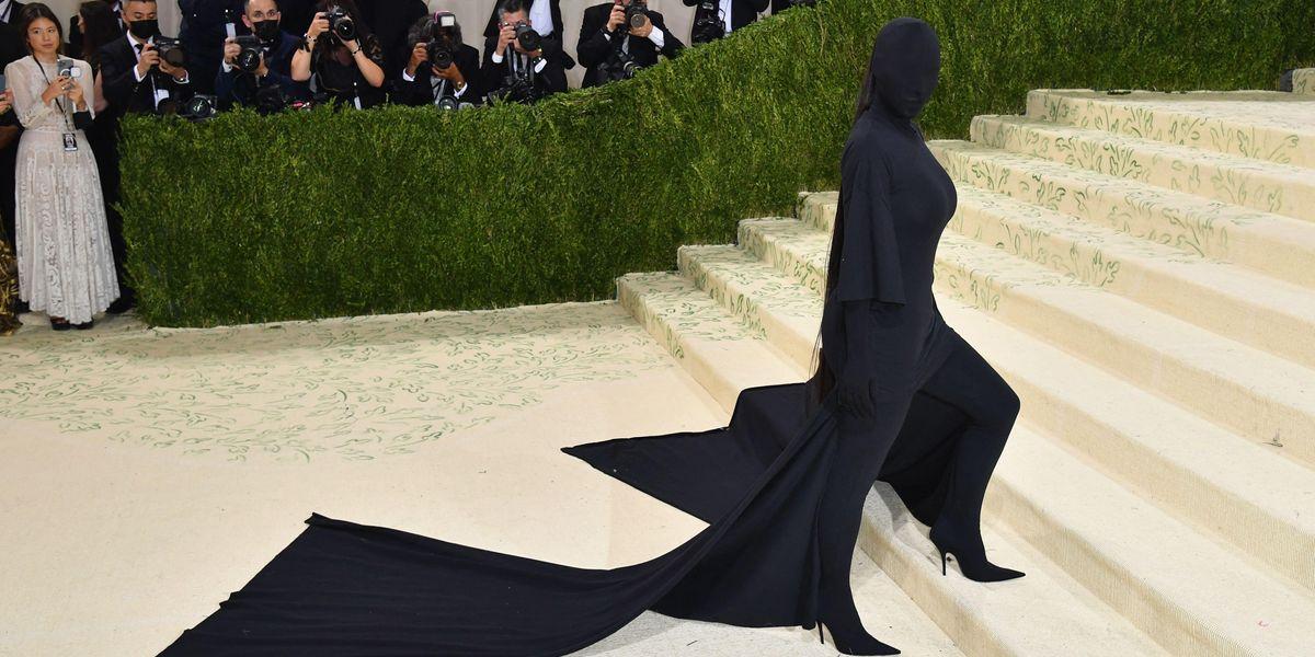 Kim Kardashian's Met Gala Look Is a Halloween Costume