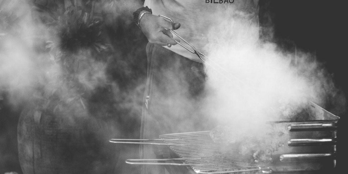grill smoke