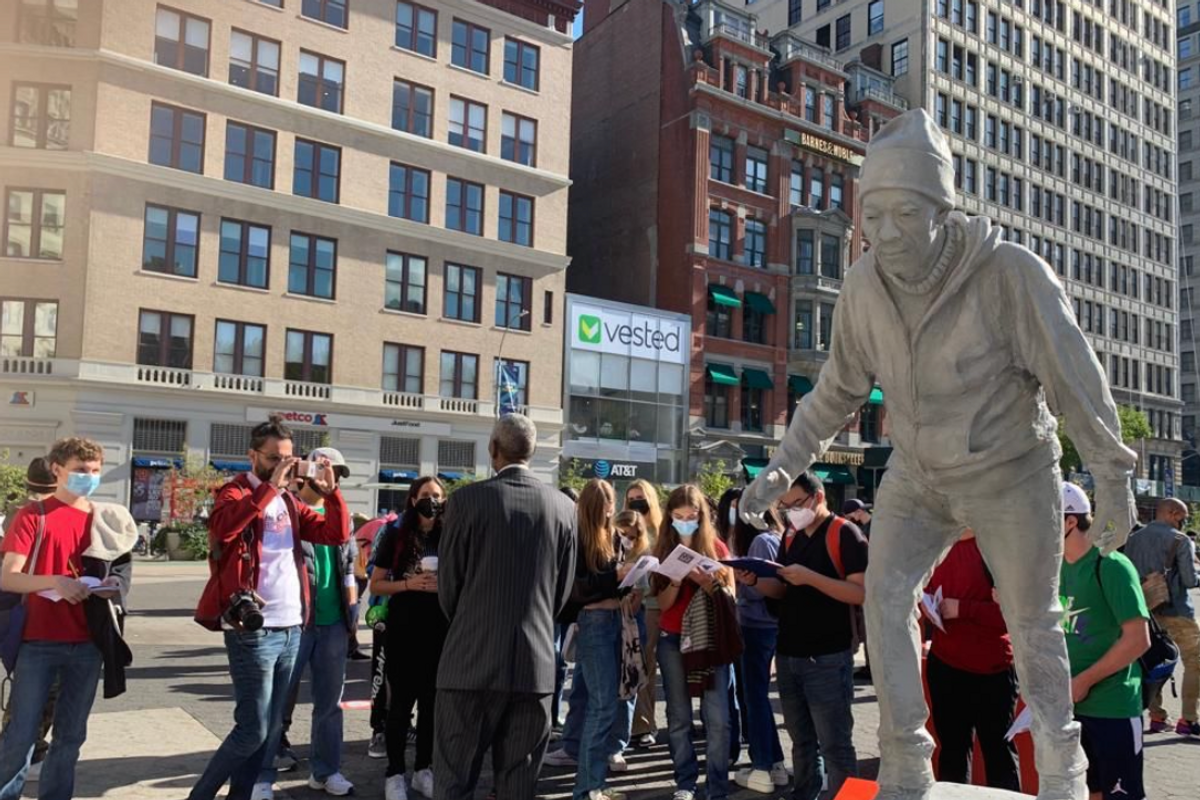 As statues fall, an answer for who should be placed on pedestals is revealed