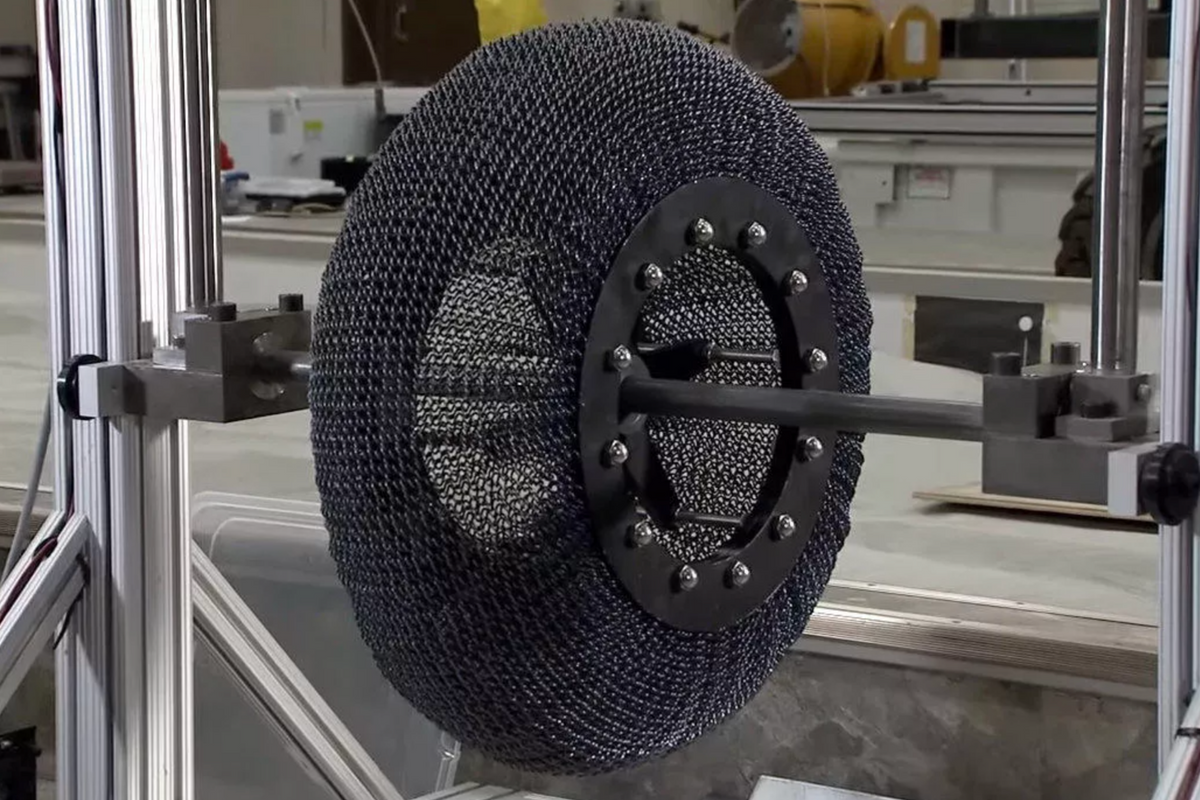 Tire company startup to use NASA technology to end flats and reduce waste