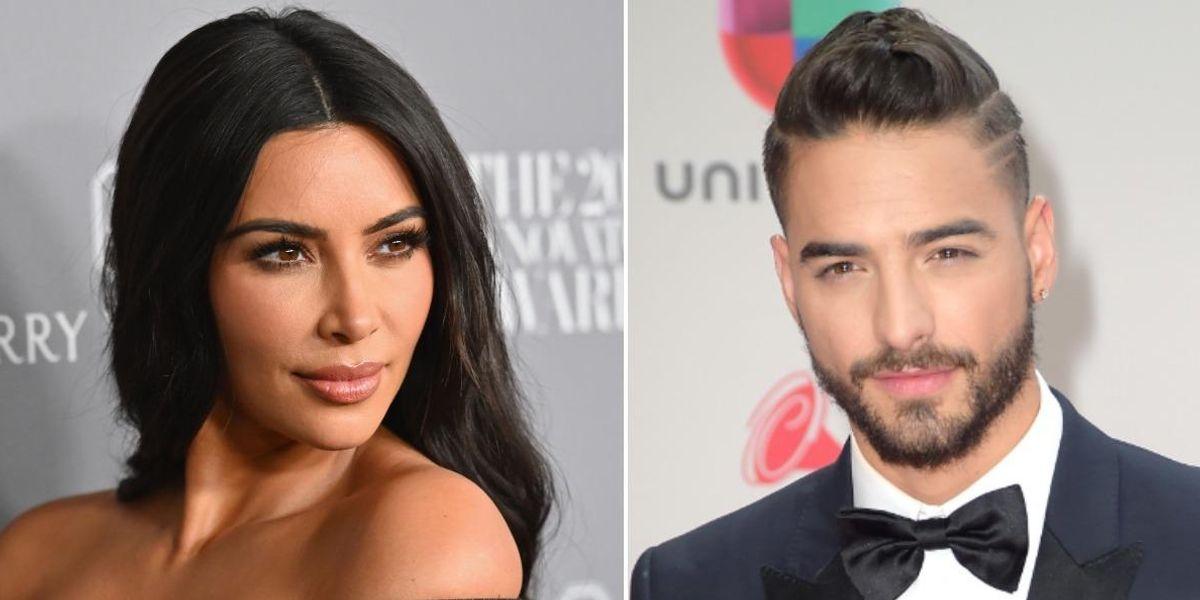Maluma Responds to Kim Kardashian Dating Rumor