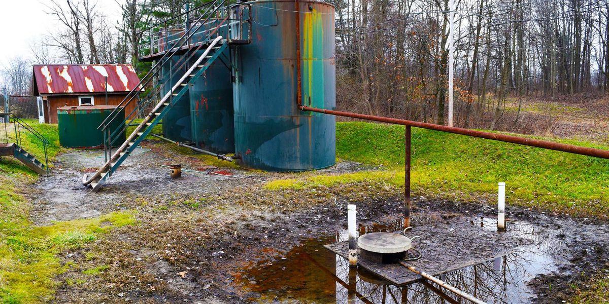 fracking radioactive waste