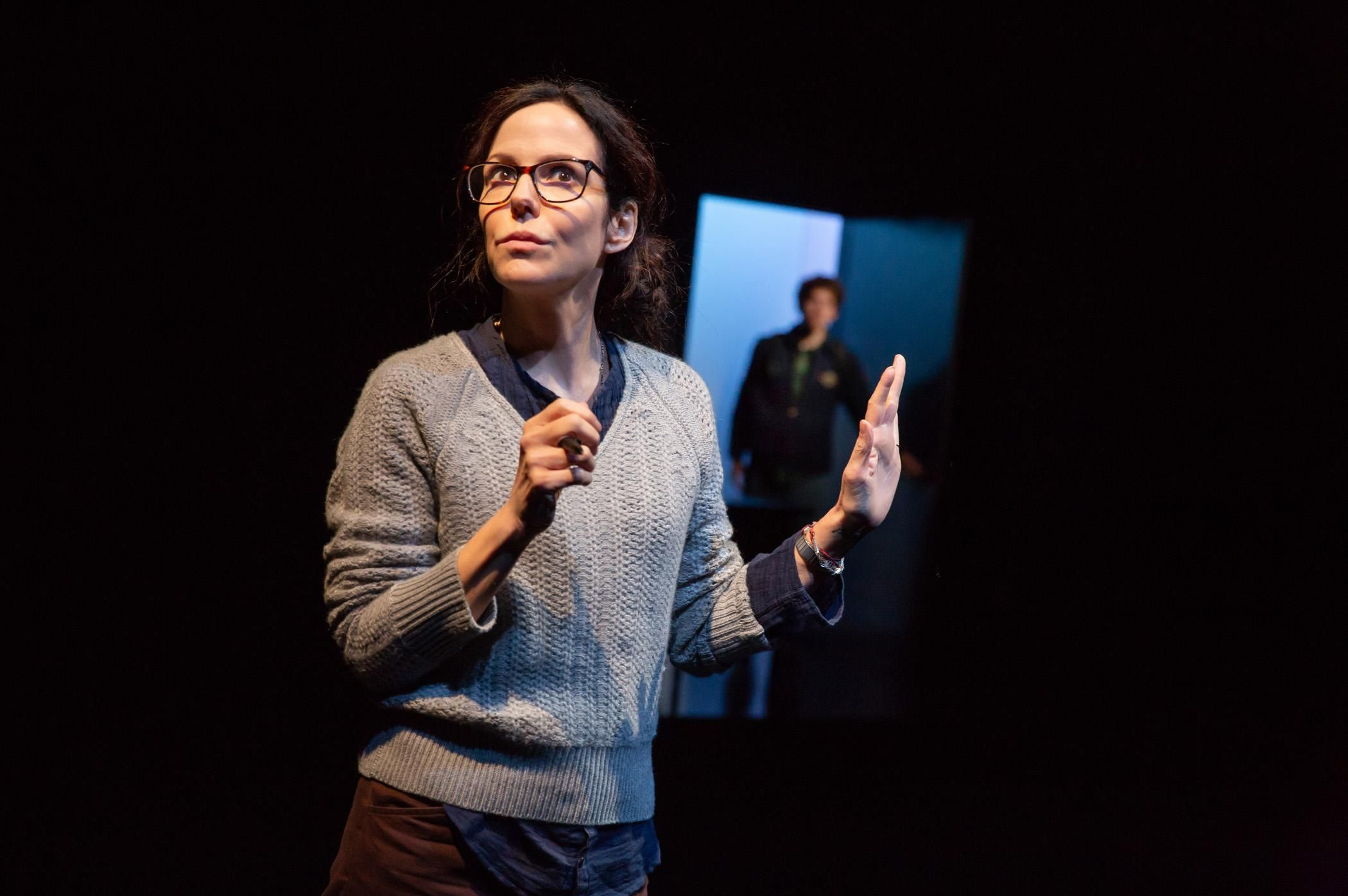 \u200bMary-Louise Parker performing in The Sound Inside