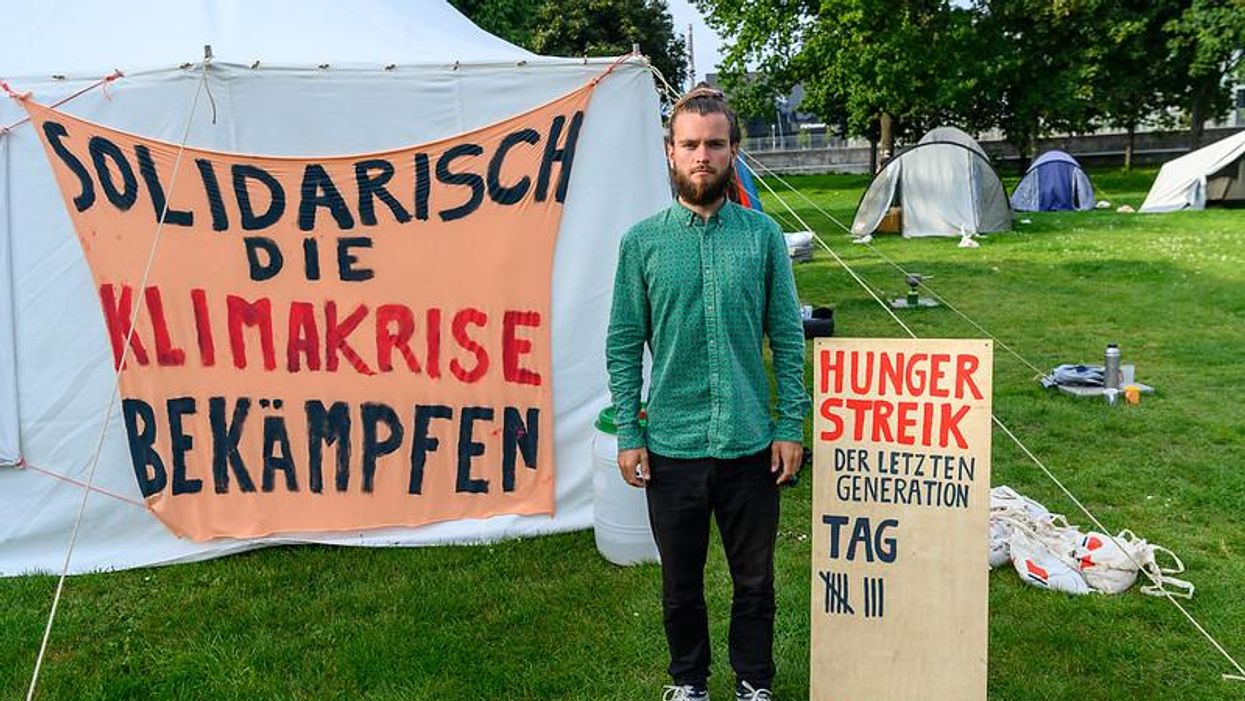 Climate strike: In the words of a hunger striker