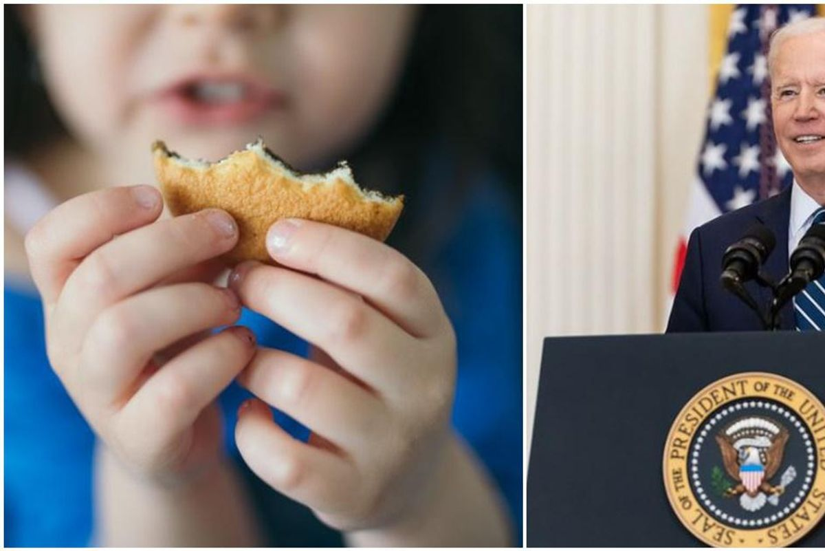 When Joe Biden said his COVID relief package would 'cut child poverty in half' he wasn't joking