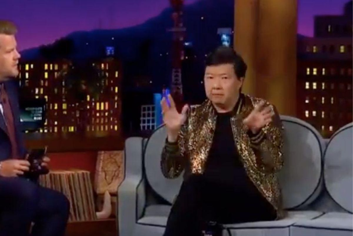 Ken Jeong gave a great analogy for the Delta variant and vaccines on The Late Late Show