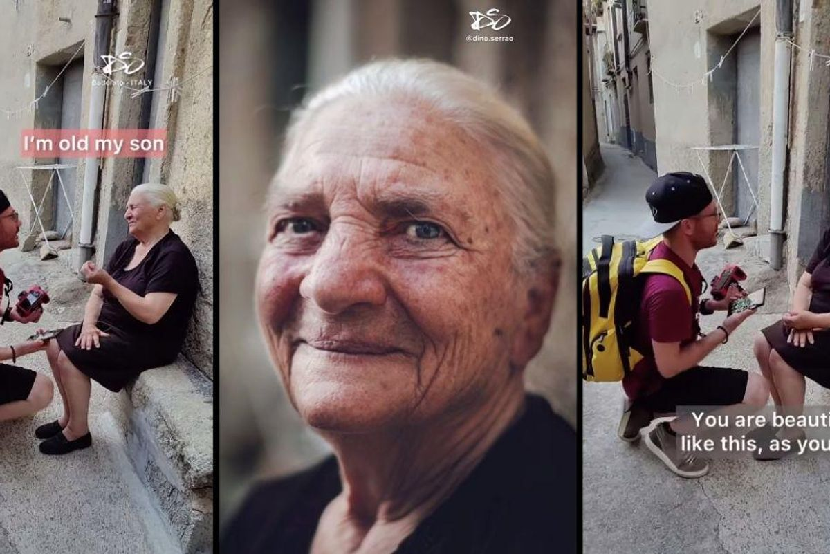 Photographer takes portraits of people on the street, then shows them how beautiful they are
