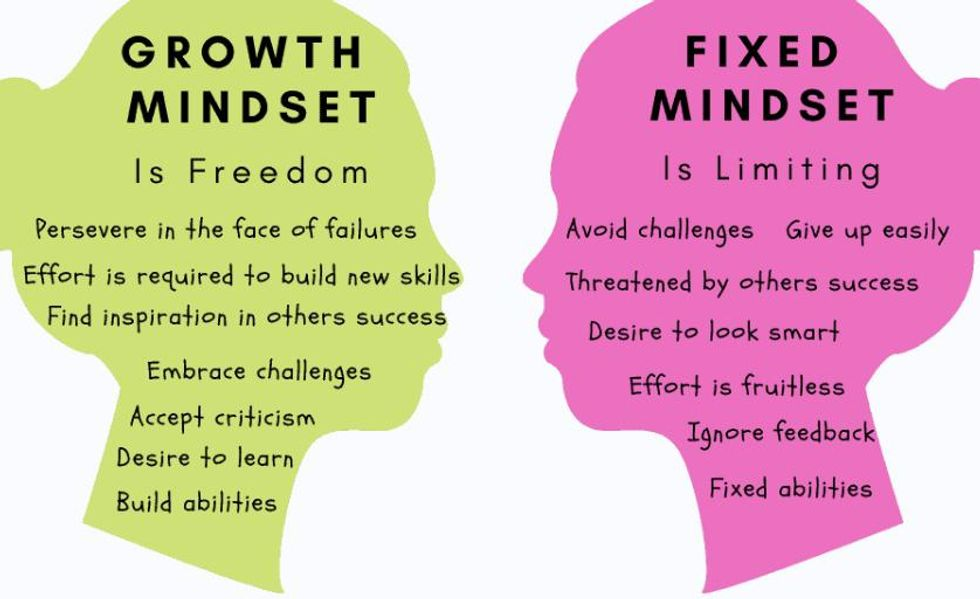 Growth vs Fixed Mindsets