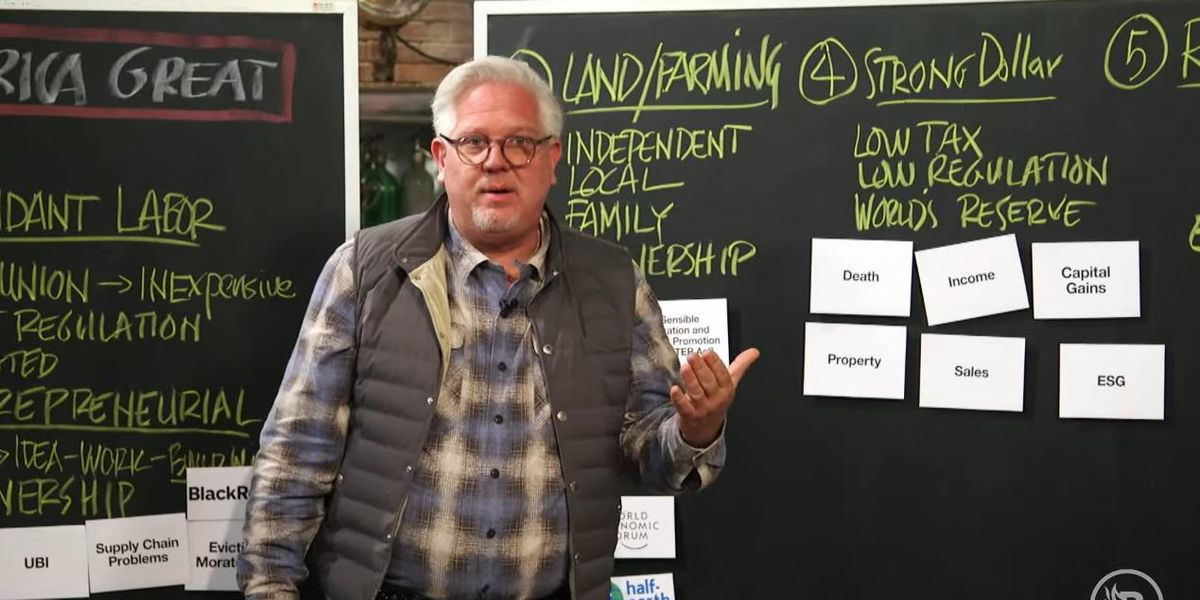 Glenn Beck: Biden's tax proposal targets bank accounts with more than $600. 'That's NOT for the wealthy. That's for EVERYONE.'