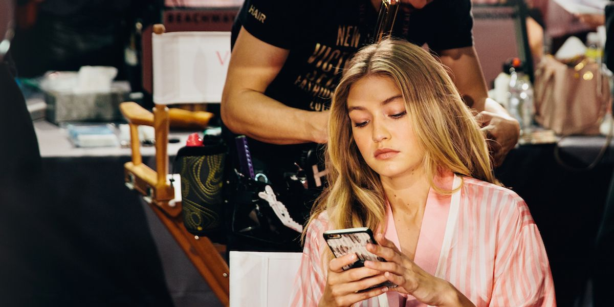 Backstage with the Angels at the Victoria's Secret Fashion Show