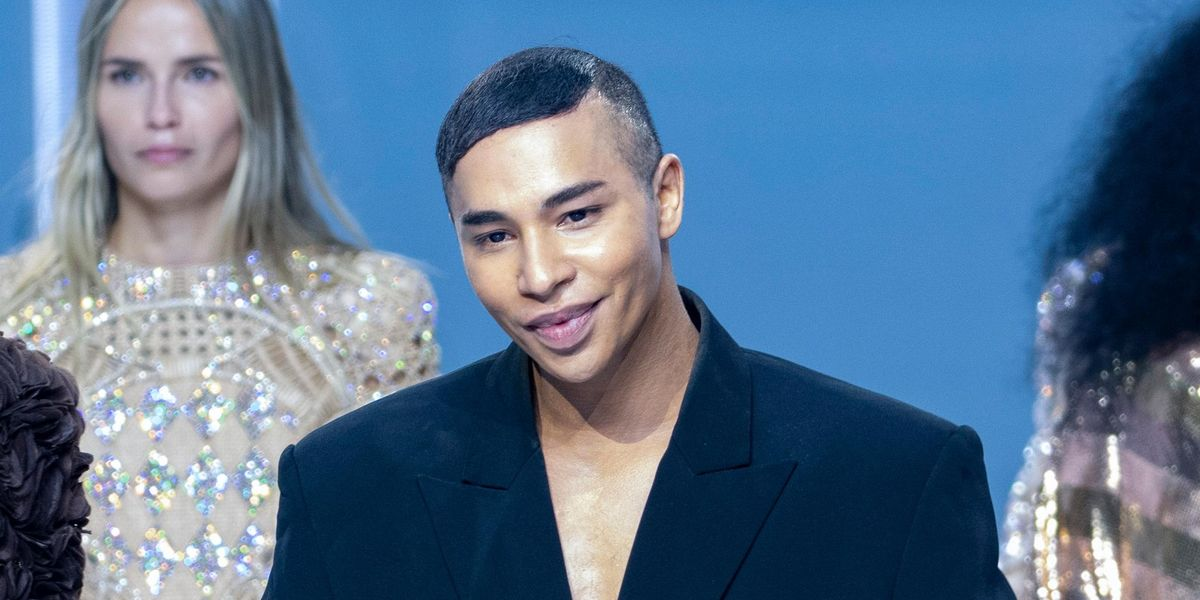 Balmain's Olivier Rousteing Opens Up About Explosion Injury
