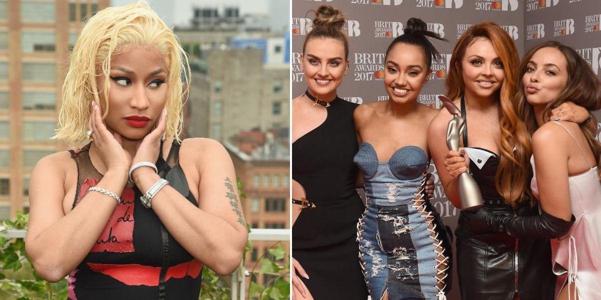 Nicki Minaj Defends Jesy Nelson from Little Mix Blackfishing Criticism