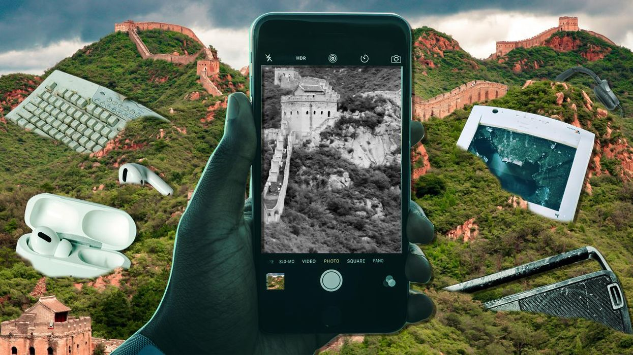 This Year's E-Waste to Outweigh Great Wall of China