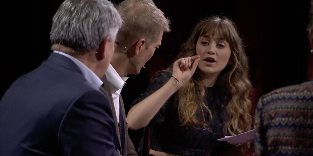 Climate Activist Condemns Shell CEO on Stage at TED Summit in Scotland