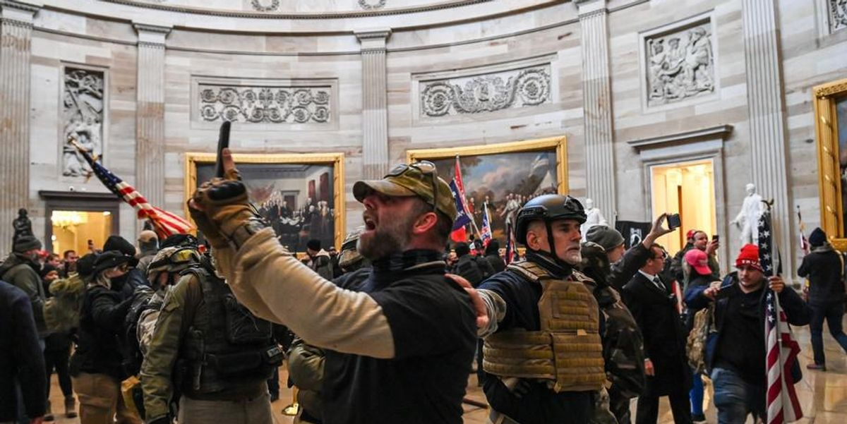 FBI Releases New Video Showing Extreme Violence At January 6 Insurrection