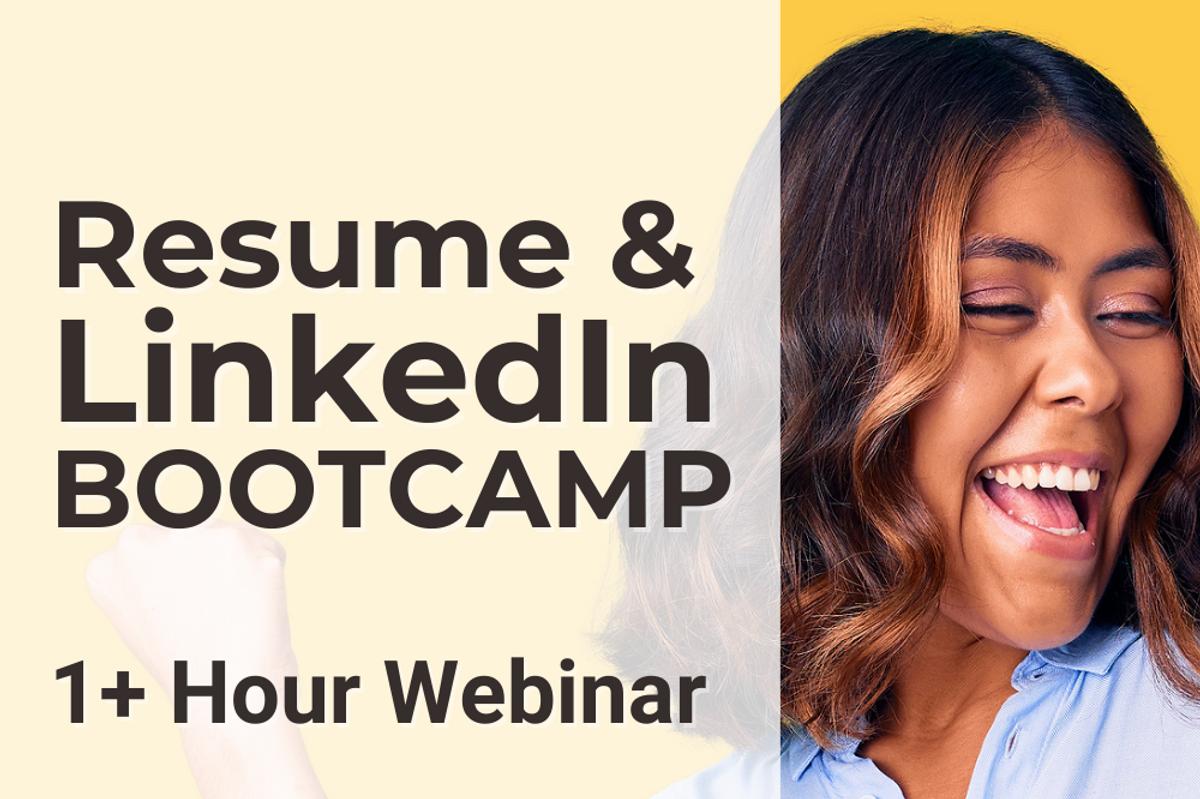 Work It Daily's resume & LinkedIn bootcamp