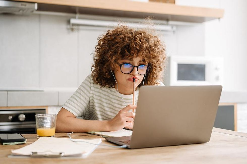 Woman frustrated that her resume isn't working
