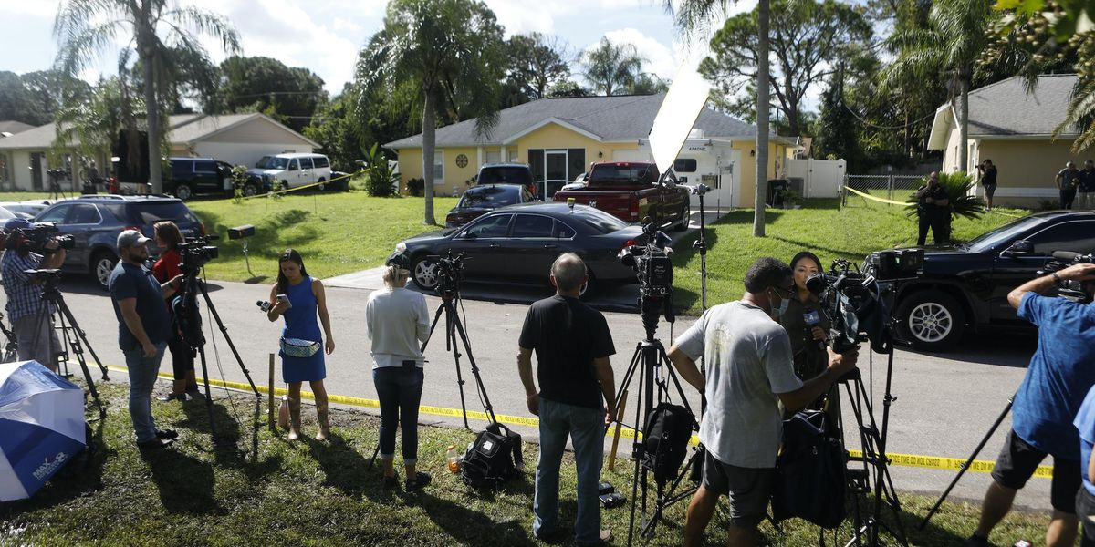 Brian Laundrie's Neighbors Renting Out Spaces for Media Stakeouts