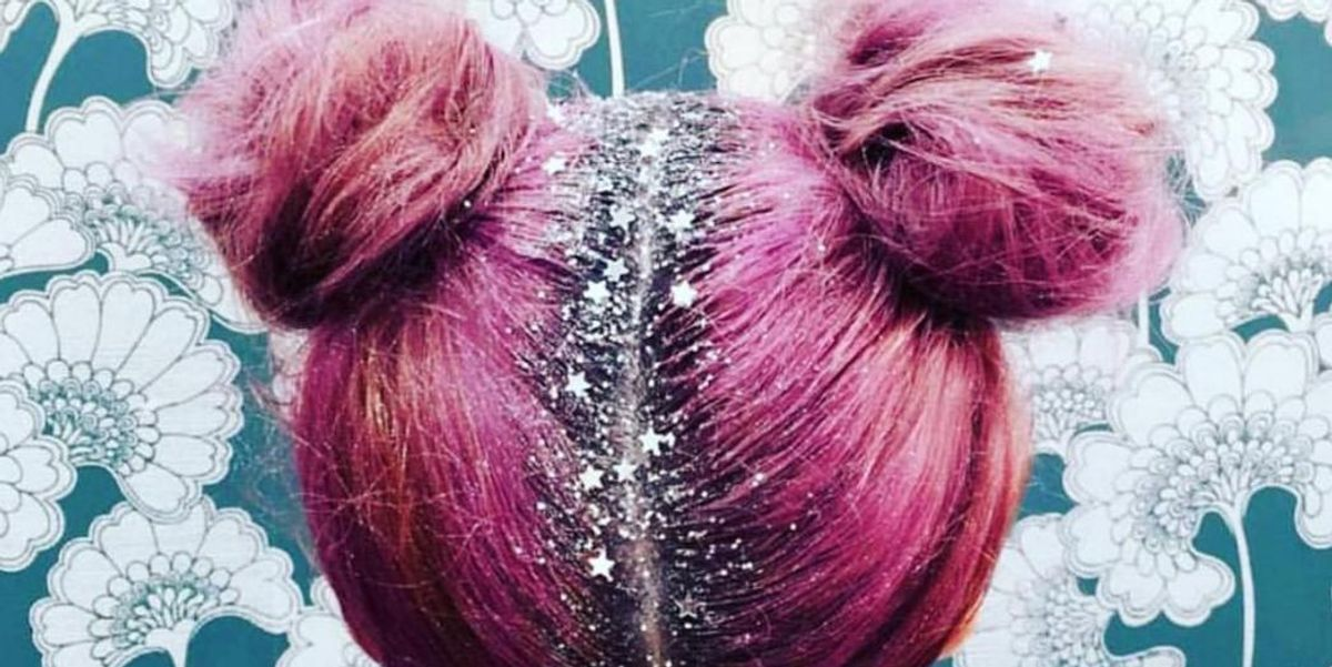 Glitter Roots Are Instagram's Sparkliest New Trend