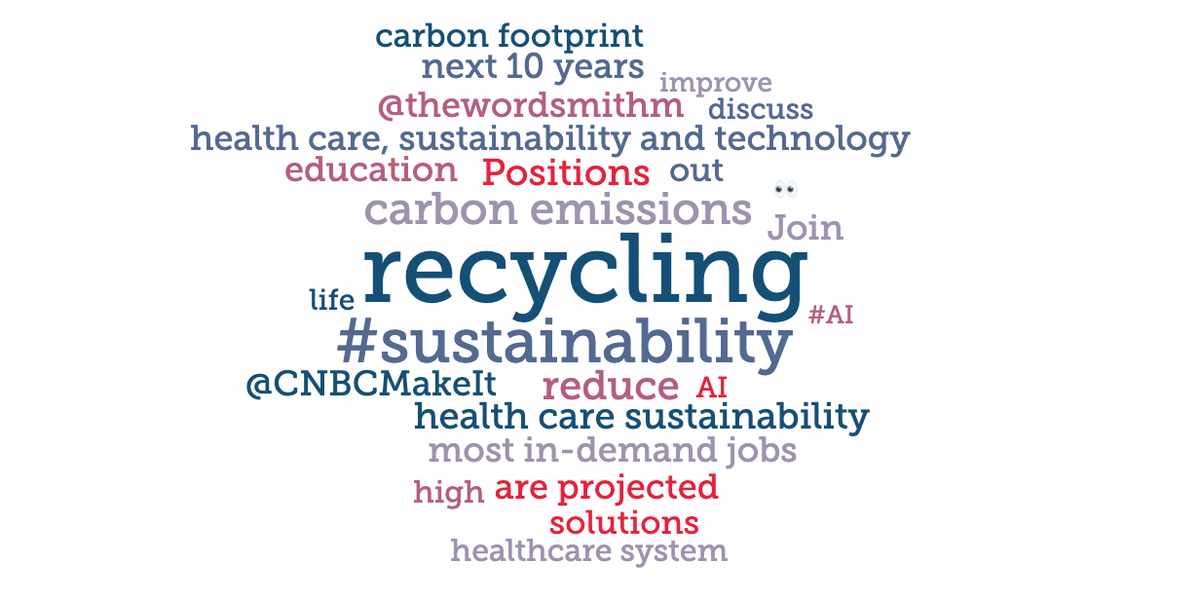 Time to redirect focus? Health care sustainability all about recycling