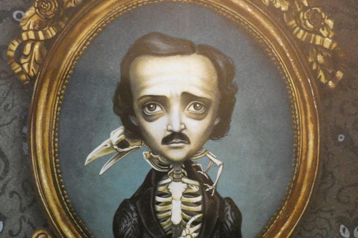 The bizarre life and mysterious death of Edgar Allen Poe is a Halloween story of its own