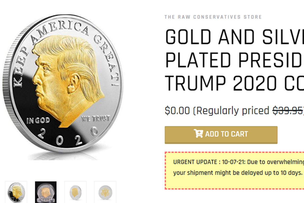 Don't fall for the bogus 'Trump Coin' scam. It's not a real investment.