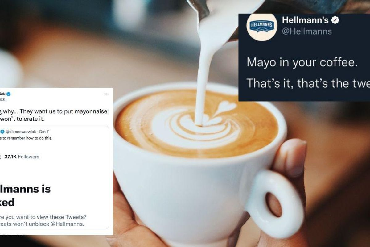 Would you put mayo in coffee? The very idea is sparking a hilarious debate on the internet