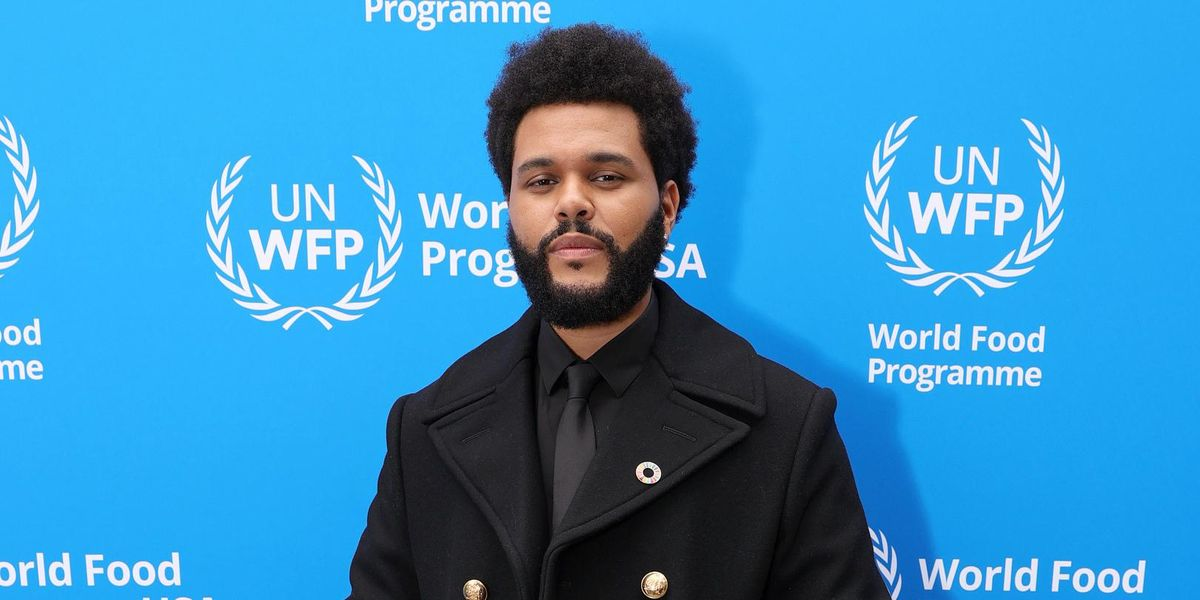 The Weeknd Is Now a U.N. Goodwill Ambassador