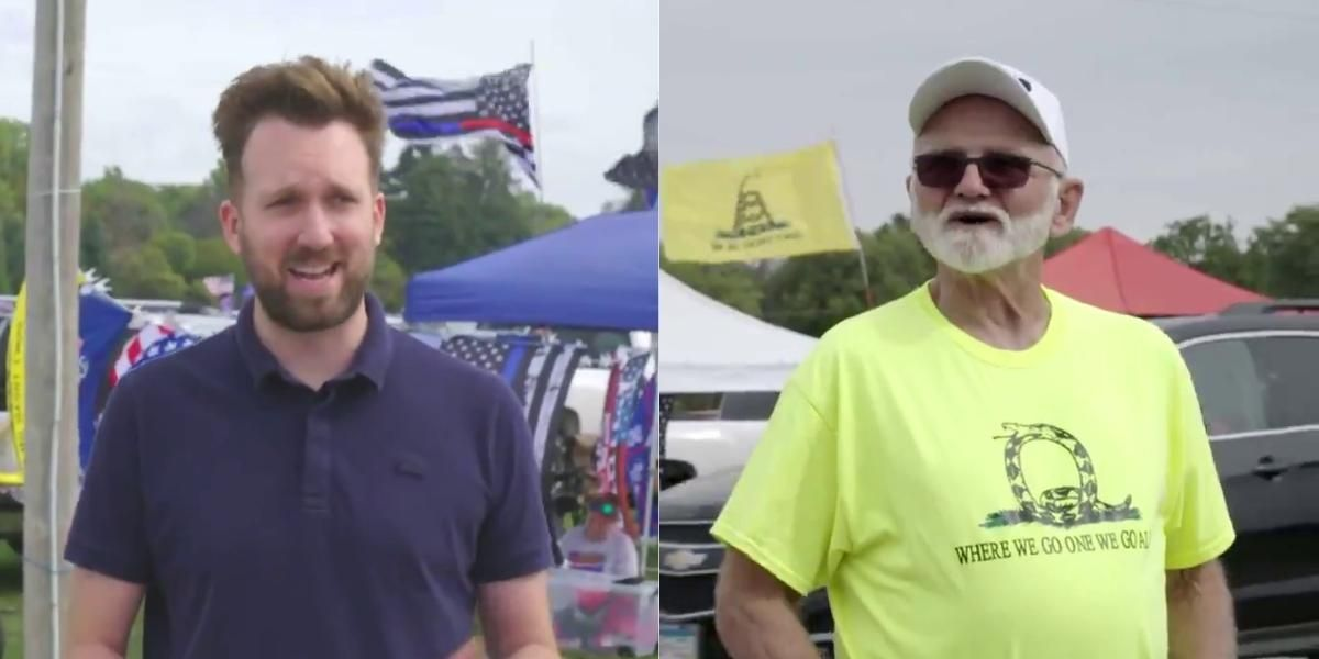 'The Daily Show' Finds A Deluded QAnon Believer Who's Convinced Trump's Secretly Still President