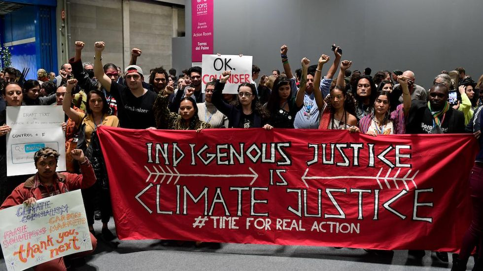 Indigenous Groups Officially Excluded From COP26, Continue Calling for Action
