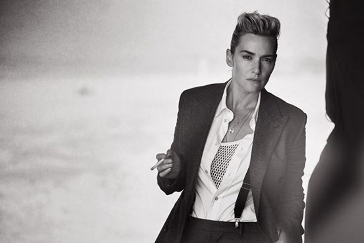 Here Are Some Photos of An Androgynous Kate Winslet To Round Out Your Saturday