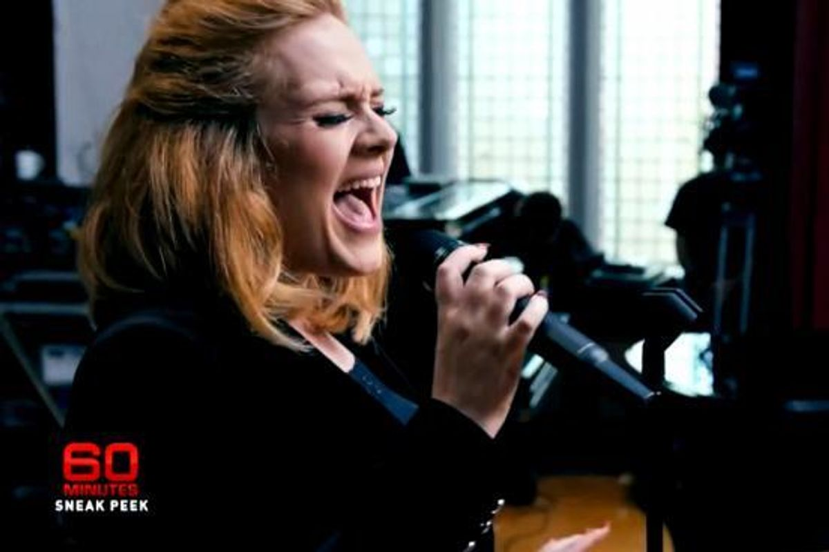 To Make Your Monday A Little Better, Here's A Preview of a New Adele Song