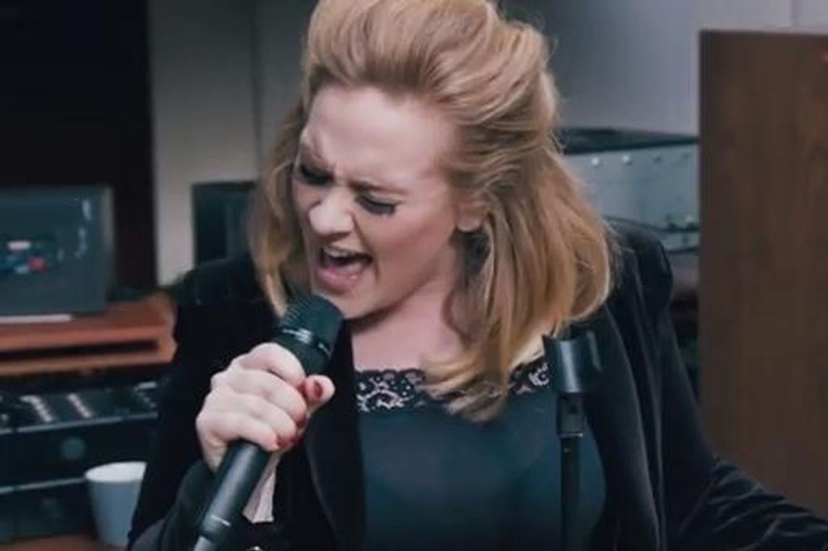 """Adele Premieres Sweeping New Song """"When We Were Young"""""""