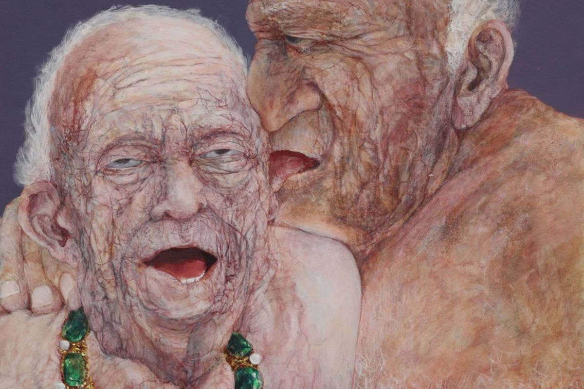 NSFW: Peep These Erotic Paintings Of The Elderly