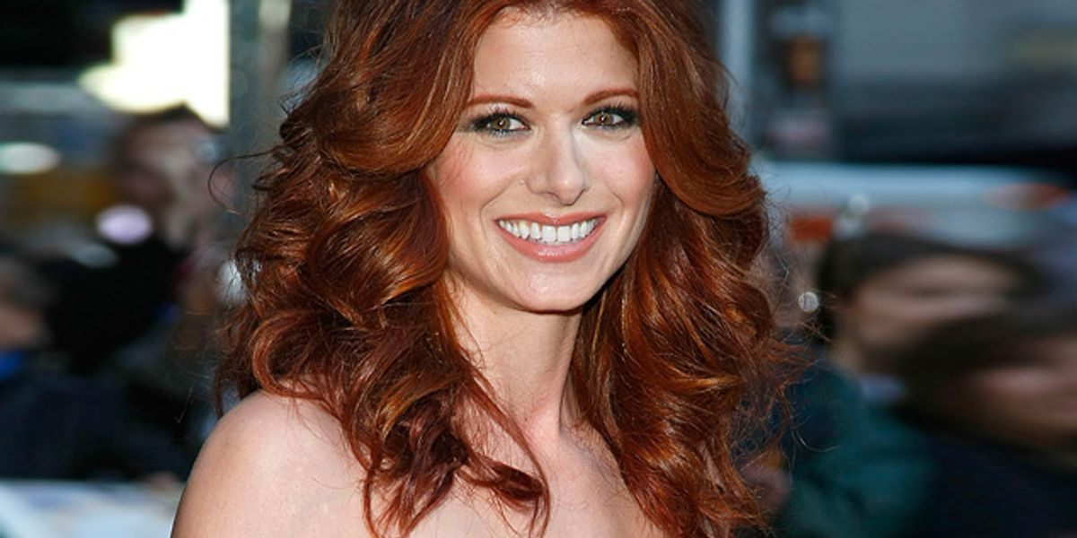 Do Not Slide Into Debra Messing's (Or Any Woman's) DMs With Your Gross Dick Pic