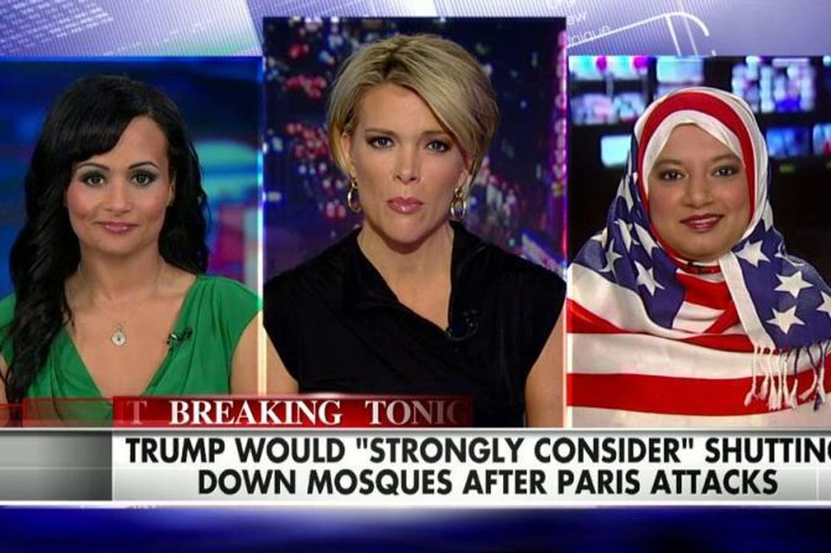 This Woman Wearing An American Flag Hijab On FOX Is Badass