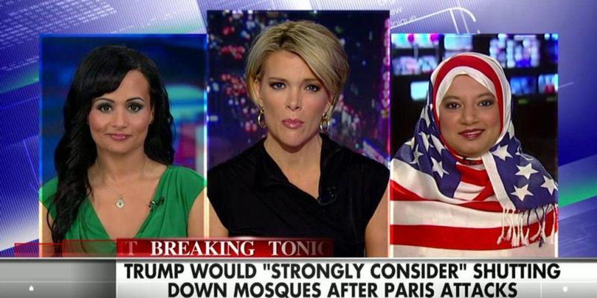 This Woman Wearing An American Flag Hijab On FOX Is Badass