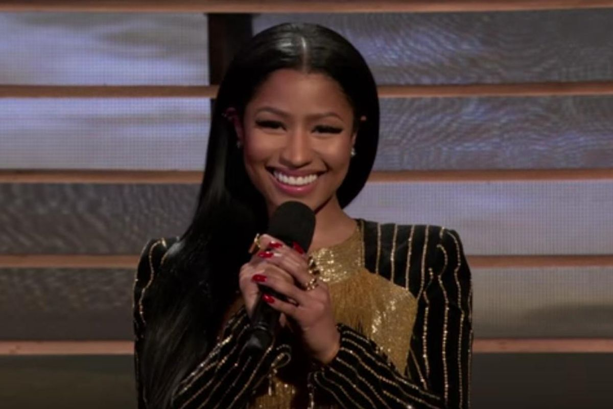 Nicki Minaj Reciting Maya Angelou Is Everything