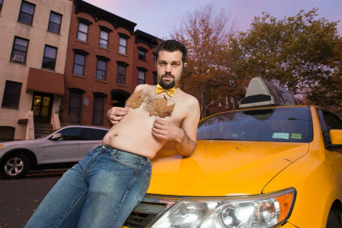 Peep These Sexy NYC Cabbie Calendar Images