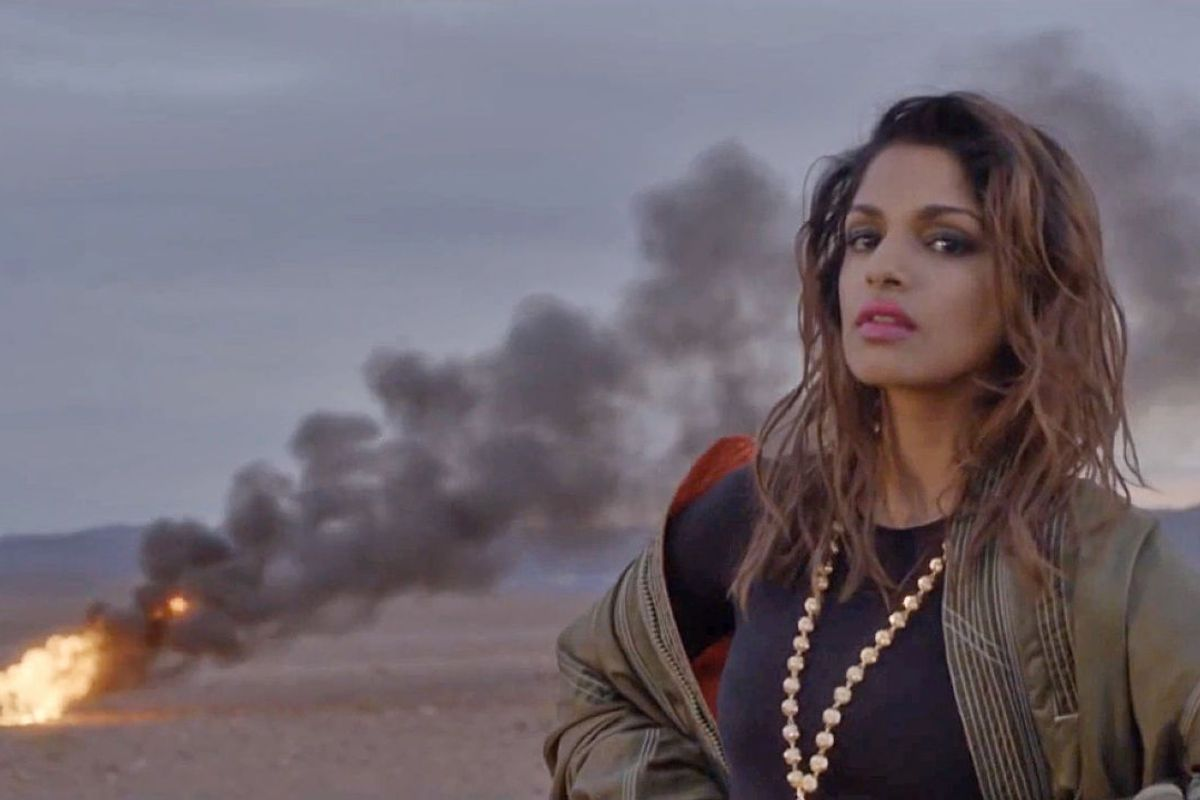 "M.I.A. Gives Contemporary Politics A Club-Worthy Spin With ""Borders"""