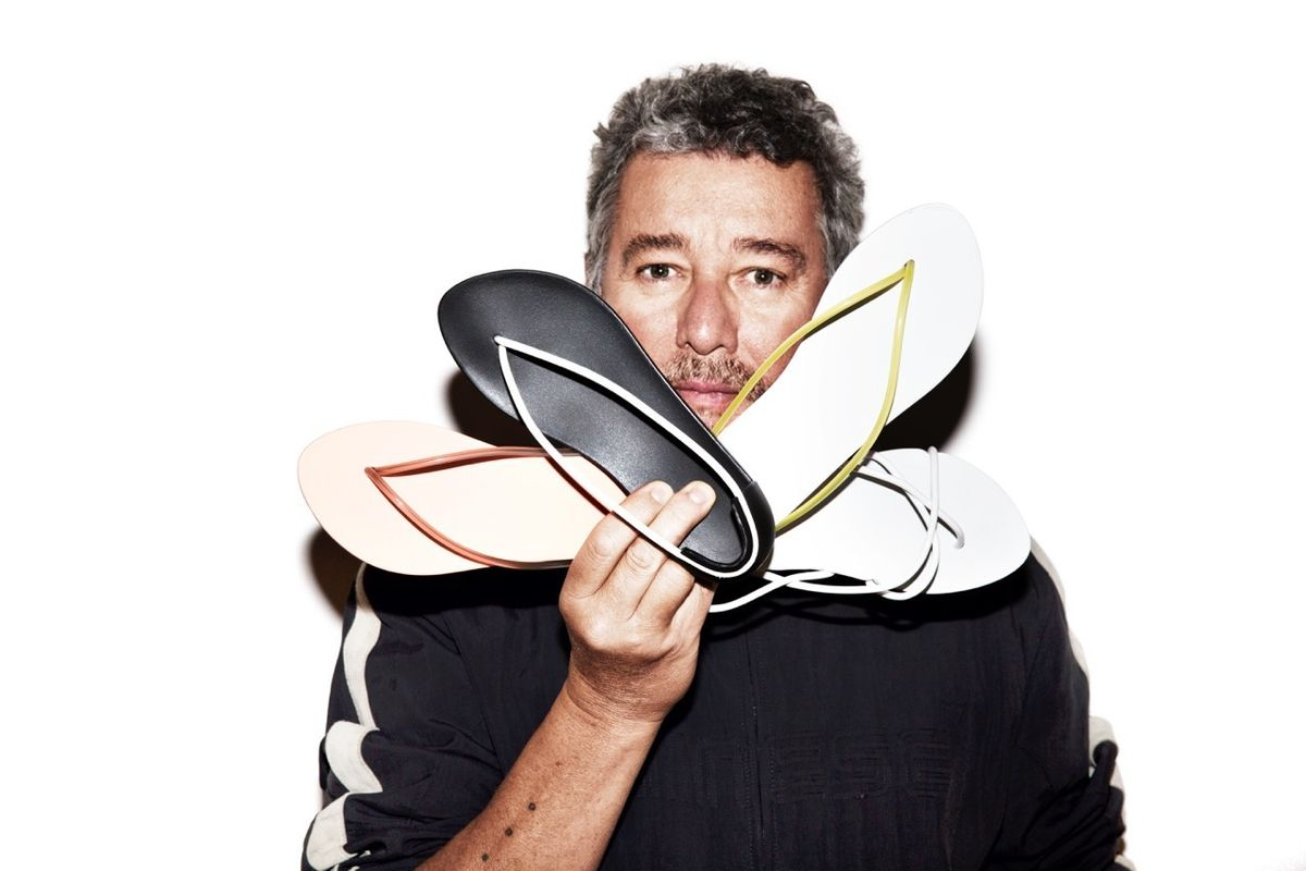 Designer Philippe Starck Does Flip Flops for Ipanema