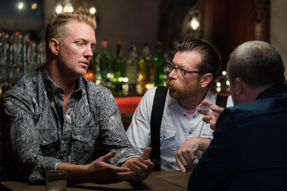 Watch Eagles of Death Metal's First Interview About the Paris Attacks