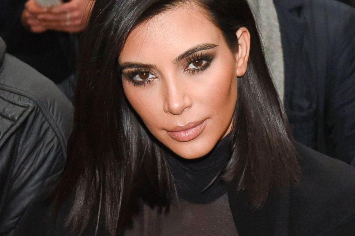 Kim Kardashian Gloriously Shut Down a Fat-Shaming Twitter Goblin