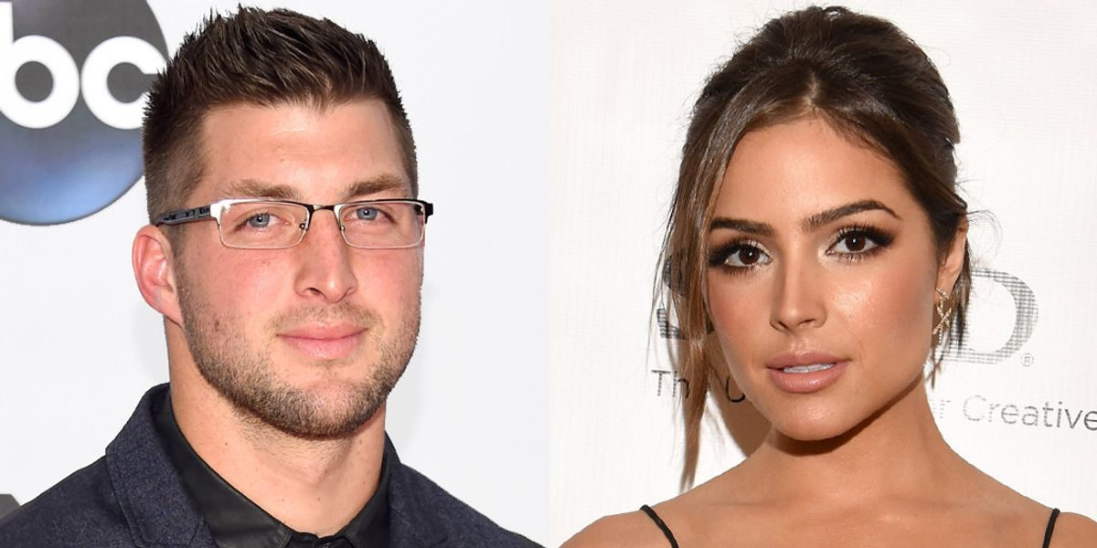 Olivia Culpo Dumped Tim Tebow Because He's Saving His V.Card In The Name of Jesus Christ