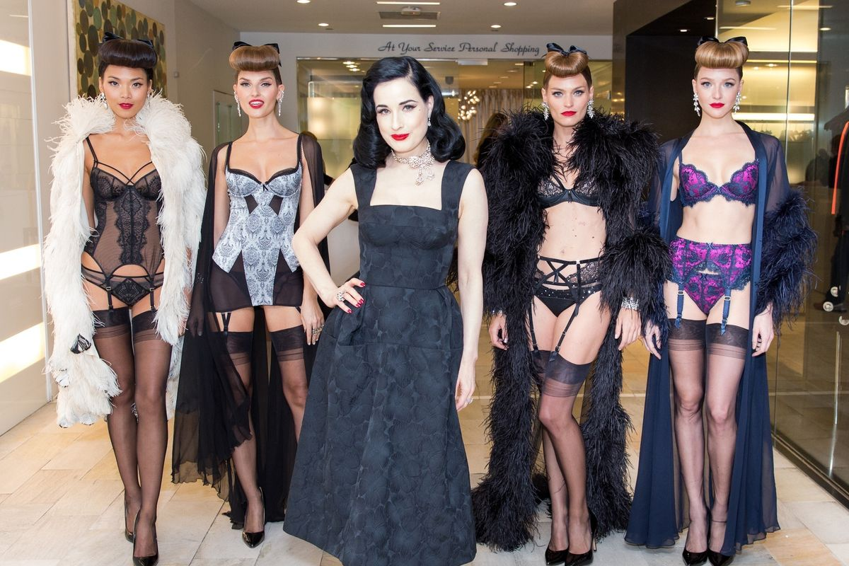 Dita Von Teese Talks to Us About Her New Beauty Bible