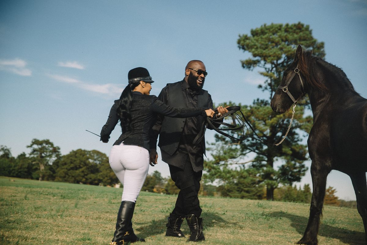 Rick Ross and Lira Mercer: Duke and Duchess of the ATL