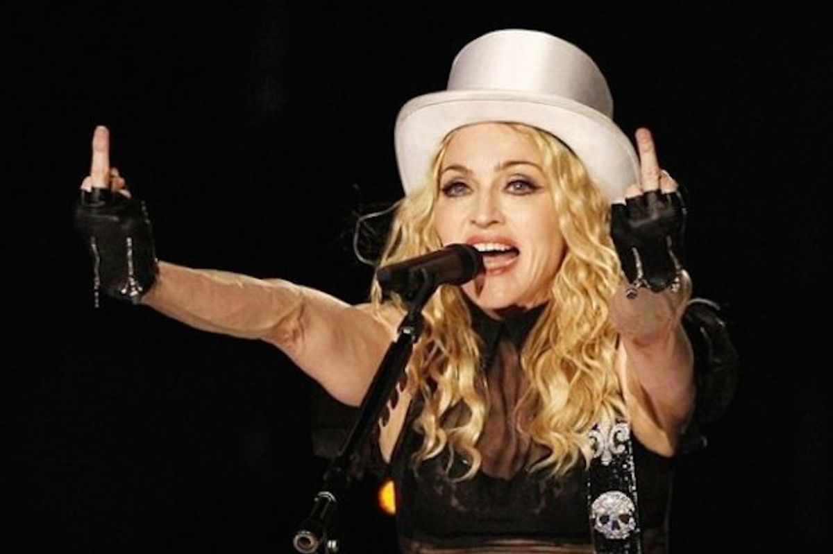 Madonna May Have Used Fake Police LED Lights To Dodge London Traffic